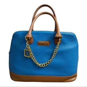 Joy & Inman Blue Timeless Chic Bag With Watch